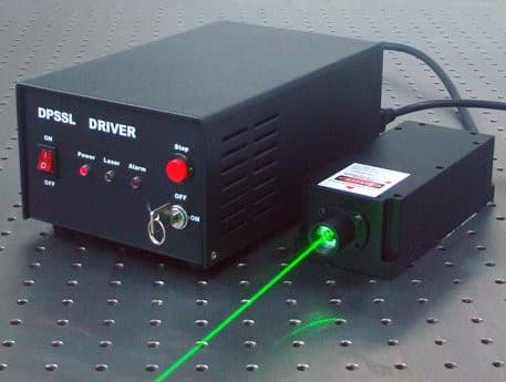 Picture of 300~400mW 532nm SLM Laser